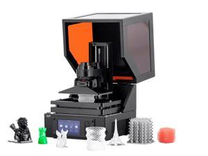 Monoprice MP Mini SLA LCD High Resolution Resin 3D Printer (118 x 65 x 110 mm) Build Area, Auto Leveling, Wi-Fi Web UI, 2K LCD Curing Screen