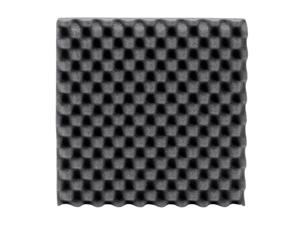 Monoprice Studio Egg Crate Acoustic Foam Panels (12-pack) 1in x 12in x 12in Fire-Retardant, Easy To Install - Stage Right Series
