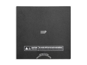Monoprice Replacement Flexible Build Plate - Black For Use With All Models of The MP Voxel 3D Printer