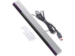 Wii Sensor Bar, Replacement Wired Infrared Ray Sensor Bar for Nintendo Wii and Wii U Console