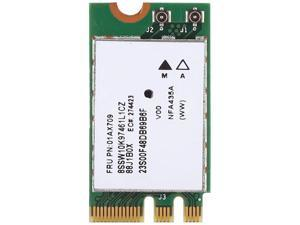 SOONHUA 2.4G+5G Dual-Band Wireless Network Card QCNFA435 NGFF M.2 Interface for Lenovo IdeaPad