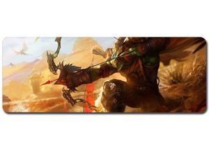 Mouse Pad,Professional Large Gaming Mouse Pad, World of Warcraft Mouse Pad,Extended Size Desk Mat Non-Slip Rubber Mouse Mat (7, 800 x 300 x3 mm / 31.5 x 11.8 x 0.12 inch)