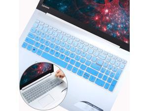 2Pcs Keyboard Cover Skin for Lenovo IdeaPad 320 330 330s 340s 520 720s 130 S145 L340 S340 15.6 inch, 2020 2019 2018 Lenovo IdeaPad 15.6 inch, Lenovo IdeaPad 320 330 17.3 inch Laptop, Ombre Blue