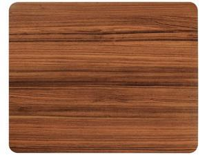 Basus Mouse Pad Synthetic Leather Rectangle Slim Gaming Mouse Pad Anti Slip High Pixel Mousepad,Wood