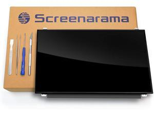 SCREENARAMA New Screen Replacement for HP 255 G7, 30pins, HD 1366x768, Glossy, LCD LED Display with Tools