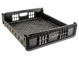 ORBIS NPL650-01 Blk Bread Basket, 26-1/2 x 22 x 5, Black