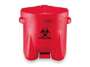 EAGLE 945BIO Biohazard Step On Waste Container