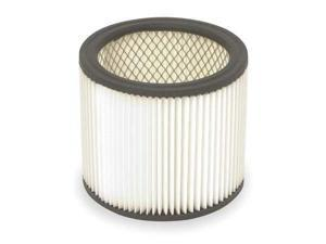 DAYTON 2W435 Filter,Dry,Cartridge Filter,Paper,6-1/2""