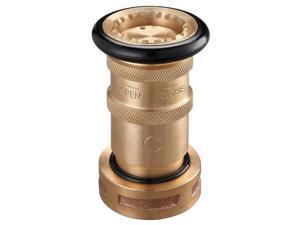 ZORO SELECT 6AKC1 Industrial Fog Nozzle,1-1/2 In.,Black