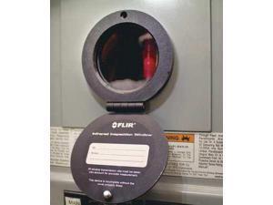 FLIR IRW-3C Round Infrared Wndw,75mm dia.,Type 3/12