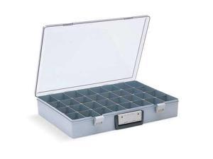 "FLAMBEAU 6745AZ 8 to 32 Compartment Box,18-1/2"" x 13"" 3"""