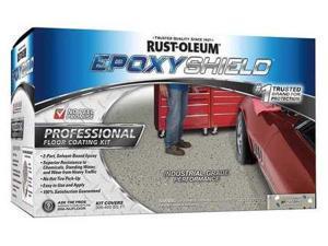 """EXOPYSHIELDâ""""¢ Floor Coating Kit,2 gal,Dunes Tan RUST-OLEUM 238466"""