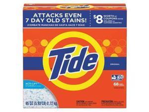 TIDE PGC 84997 Powder Laundry Detergent, Original Scent, 95 Oz