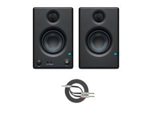 "Presonus Eris-E3.5 2-Way 3.5"" Near Field Studio Monitor (PAIR) with Cable"