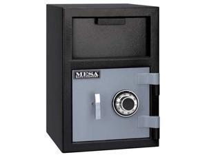 MESA SAFE COMPANY MFL2014C Cash Depository Safe, 0.8 cu ft, 82 lb, Two Tone