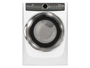 Electrolux EFME517SIW 8.0 Cu. Ft. White Electric Dryer with Steam