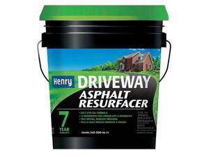 HENRY HE532074 5 gal. Asphalt Resurfacer, Flat Finish, Black Brown, Water Base