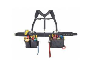 "CLC 1608 Up To 46"" Electricians Tool Combo System, Khaki/Black"