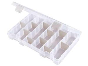 "FLAMBEAU T4008 4 to 24 Adjustable Compartment Box, 10-5/8""L x 6-5/8""W"