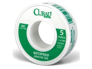 CURAD CUR47440RB Tape, White, 1/2 In. W, 5 yd. L