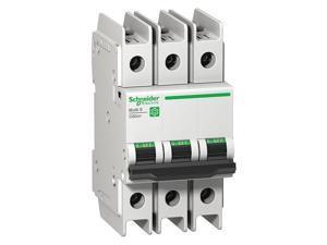 SCHNEIDER ELECTRIC M9F42303 3 A A DIN Rail IEC Miniature Circuit Breaker ,