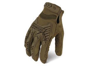 """IRONCLAD IEXT-ICOY-03-M Tactical Glove,Size M,9"""" L,Brown,PR"""