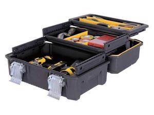 "STANLEY FMST18001 17-29/32""W Structural Foam, Yellow/Black Portable Tool Box,"