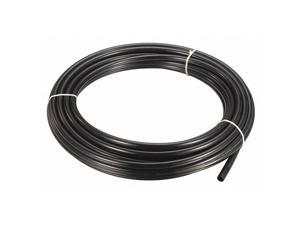"ZORO SELECT 2VDK8 Tubing,5/32"" OD,Nylon,Black,50 Ft"