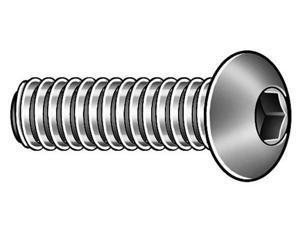 Prospect Fastener 10F87KBC Kerr Lakeside 10-32 x 7/8 In. Button Head Socket Cap