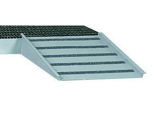 LITTLE GIANT SSB-RAMP Spill Platform Ramp,Gray