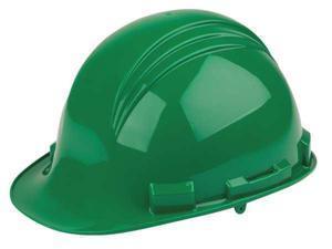 Dark Green Safety Cap W/4 Point Nylon Ratch