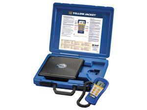 YELLOW JACKET 68812 Refrigerant Scale, Electronic, 220 lb