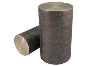 ZORO SELECT 6ALX6 Bar Stock,Aluminum,6063,1//8x5//8 In,8 ft.