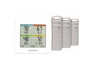 """ACURITE 01094M Weather Station,0 to 99.99"""" Rain Fall"""