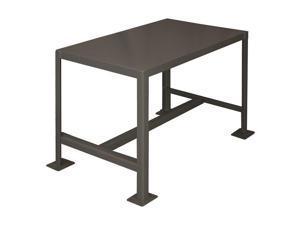 "Durham MFG MT182418-2K195 Fixed Work Table,Steel,24"" W,18"" D"