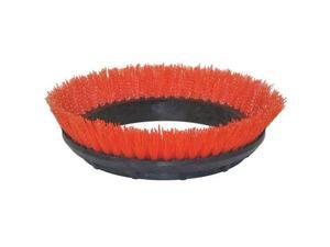 BISSELL COMMERCIAL 237.047BG Scrubbing Rotary Brush,Orange,12 in.