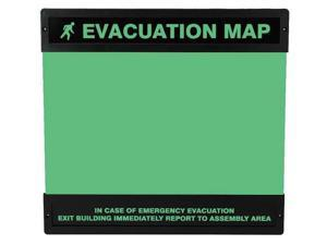 ACCUFORM DTA239 Evacuation Map Holder,11 in. x 17 in.