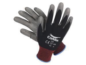 100PK ZORO G1457113 Blue Nitrile Disposable Gloves L