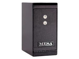 MESA SAFE COMPANY MUC1K Cash Depository Safe, 0.2 cu ft, 20 lb, Hammered Gray,