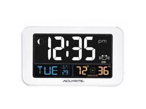 AcuRite 13040 Indoor Intelli Time Alarm Clock Alarm Clock