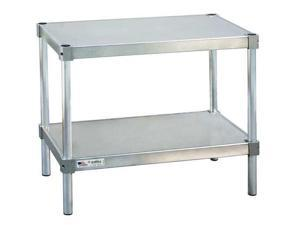 "NEW AGE 21524ES24P Fixed Work Table,Aluminum,24"" W,15"" D"