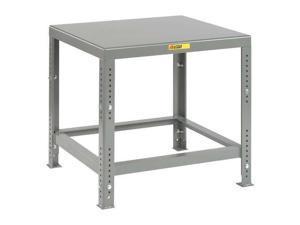 """LITTLE GIANT MTH1-3036-AH Adj. Work Table,Steel,36"""" W,30"""" D"""