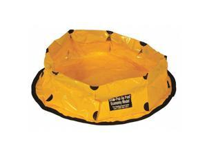 ULTRATECH 8022-YEL Containment Pool,20 gal,8 In H