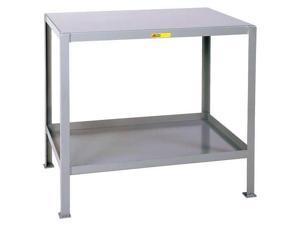 "LITTLE GIANT MT2448-2 Fixed Work Table,Steel,48"" W,24"" D"
