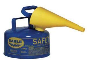 EAGLE UI10FSB 1 gal. Blue Galvanized steel Type I Safety Can for Kerosene