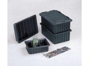 LEWISBINS DV1760-NXL   BUY 25S ESD Box Divider,Black,15-9/16in.x5-1/4in
