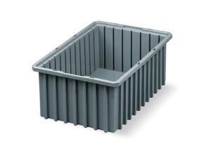 AKRO-MILS 33166GREY Gray Divider Box 16 1/2 in x 10 7/8 in x 6 in H, 1 PK
