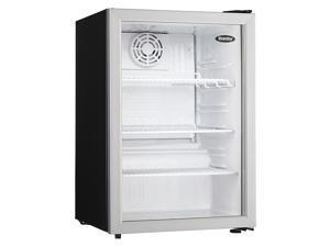 DANBY DAG026A1BDB Refrigerator,Compact Style,Black SS