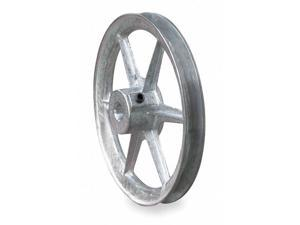 """CONGRESS CA0700X075KW 3/4"""" Fixed Bore 1 Groove Standard V-Belt Pulley 7.00"""" OD"""