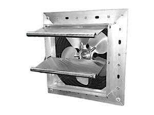 """DAYTON 484X36 Shutter Mount Exhaust Fan, 7"""", Variable Speed, 250 cfm, 115V"""